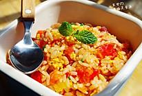 茄汁腊香蛋炒饭---------详解最简单美味的上班族午餐的做法