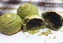 抹茶红豆酥(猪油版)的做法