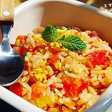 茄汁腊香蛋炒饭---------详解最简单美味的上班族午餐