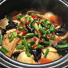 豆腐杂蔬煲