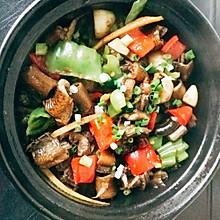 鳝鱼煲+鳝鱼拌面