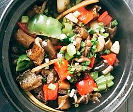 鳝鱼煲+鳝鱼拌面的做法