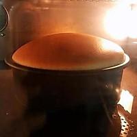 起司片棉花蛋糕 8吋無奶油、燙麵水浴烘烤(转载)的做法图解15