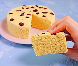 小米蒸蛋糕,粗粮这么做特别好吃的做法