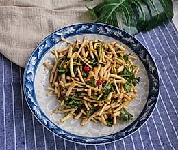 快手菜——凉拌折耳根的做法