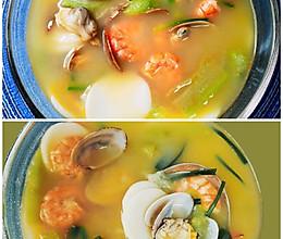 海鲜年糕汤#巨下饭的家常菜#的做法