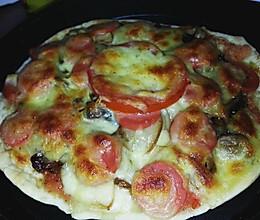 薄饼披萨的做法