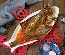 清蒸比目鱼#新年开运菜,好事自然来#的做法
