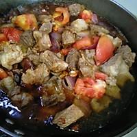 #合理膳食 营养健康进家庭#番茄炖牛腩的做法图解9