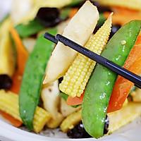 玉米笋炒时蔬的做法图解10