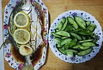 原汁原味-清蒸金鲳鱼的做法