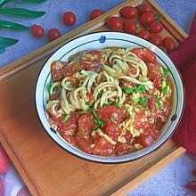 #炎夏消暑就吃「它」#番茄鸡蛋拌面