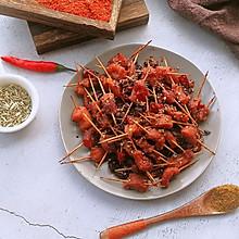 新年聚餐小零食,自制麻辣酥香牙签肉