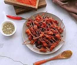 新年聚餐小零食,自制麻辣酥香牙签肉的做法