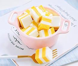 #童年不同样,美食有花样#芒果酸奶千层糕的做法