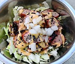 鸭胸肉蔬菜沙拉的做法