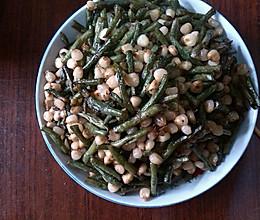 豇豆炒玉米的做法