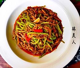 青椒炒牛肉丝的做法