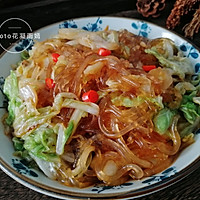 家常下饭菜--白菜炒粉条的做法图解12