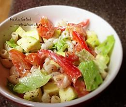 【快手】低卡意粉蔬菜沙拉——不输味道的低卡做法的做法