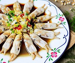 葱油蛏子:最是吃蛏好时节的做法