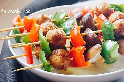 瑞典式肉圆烤串#宜家让家更有味#