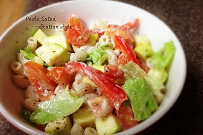 【快手】低卡意粉蔬菜沙拉——不输味道的低卡做法