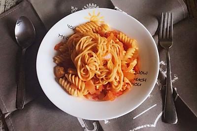 减脂健身餐系列-番茄肉酱意面