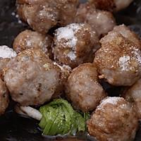 【莲藕丸子汤】【红烧藕丸子】肉丸子新做法,一汤一菜味道妙!的做法图解7