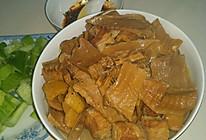 干笋红烧肉的做法