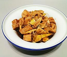 油豆腐焖笋的做法