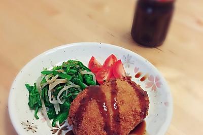 日式炸肉饼(メンチカツ)