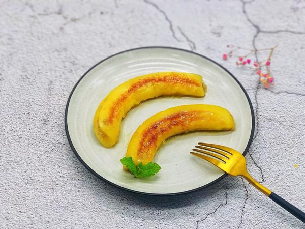 烤香蕉的做法