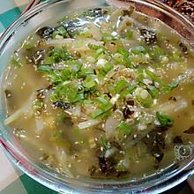酸菜土豆丝汤