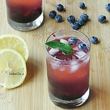 清爽蓝莓苏打水