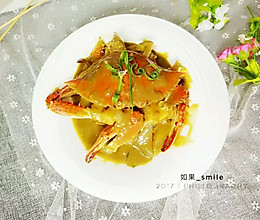 咖喱蟹#京蟹世家#的做法