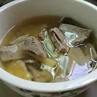 猪肝瘦肉汤的做法图解4
