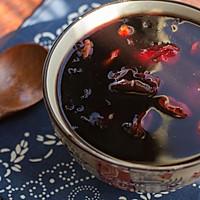 红糖红枣黑米粥的做法图解4
