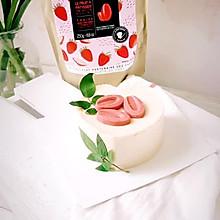 草莓巧克力慕斯蛋糕