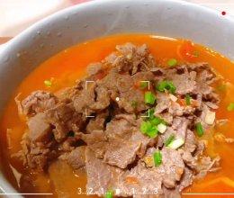 番茄烫牛肉的做法