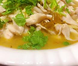 家常版酸菜鱼的做法