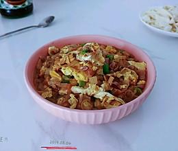 葱油酱豆蛤蜊蛋的做法