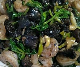 清香虾仁的做法