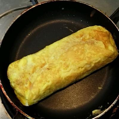 新手简单厚蛋烧早餐便当