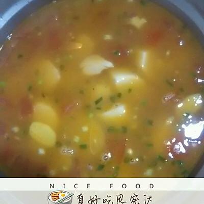 西红柿山药汤