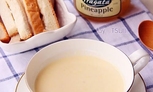 三分钟为宝宝做营养辅食·玉米牛奶羹·的做法