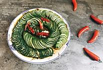 蓑衣黄瓜-夏日家常小菜 酸甜辣爽口开胃菜的做法