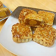 #晒出你的团圆大餐#传统广式蛋黄莲蓉豆沙月饼