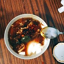豆腐脑(豆浆机版)+浇卤