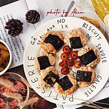 减脂 | 日式海苔鸡肉饼
